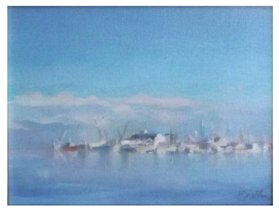 """New York artist Murray Smith is featuring """"Morning Light"""" in an exhibit at the Geary Gallery in Darien. Photo: Contributed"""