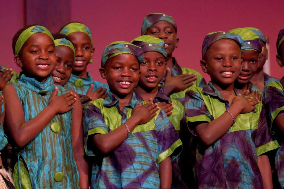 "Music & Arts at Christ & Holy Trinity Church will hold ""An African Christmas"" performance by the 25-member African ChildrenâÄôs Choir on Saturday, Dec. 1. Photo: Kyle Healy, Contributed Photo/ Kyle Healy / All Rights Reserved"