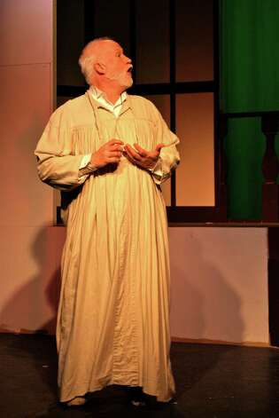 "Jim Lones of Oxford is playing Ebenezer Scrooge in the Center Stage production of ""A Christmas Carol"" in Shelton through Dec. 15. Photo: Contributed Photo"