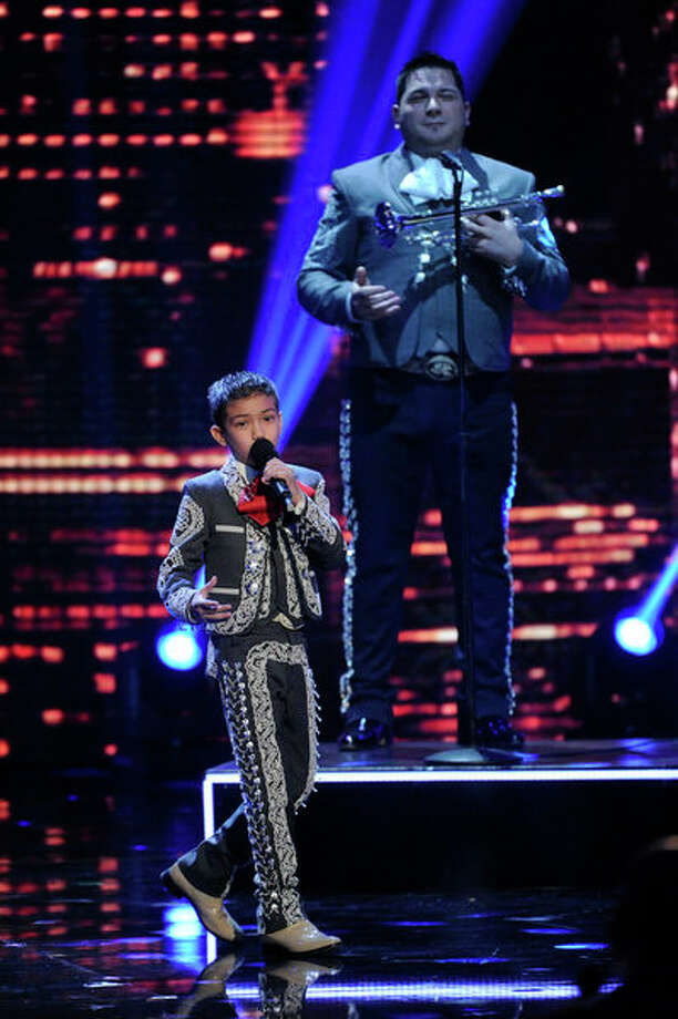 Sebastien De La Cruz will be singing 'New York, New York' at S.A. concert, his crowd-pleasing number that got him to the semifinals of 'AMERICA'S GOT TALENT -- (Photo by: Virginia Sherwood/NBC) Photo: NBC, Virginia Sherwood/NBC / 2012 NBCUniversal Media, LLC.