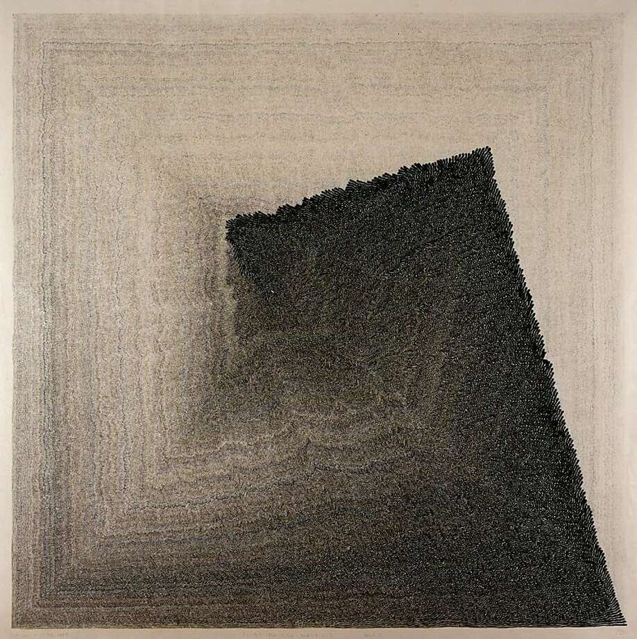 """I a (Drawing for Brush, Ink and Paper)"" (2008), pigment ink on paper by Susumu Takashima. Photo: Susumu Takashima"