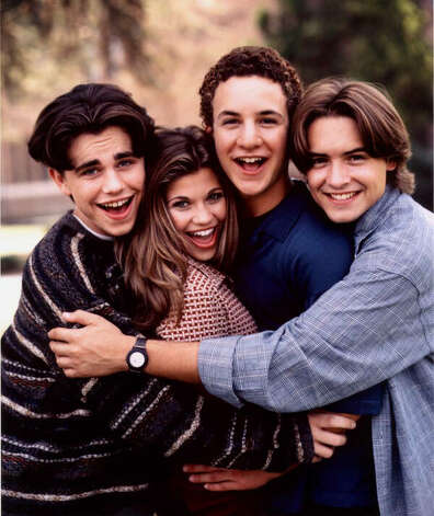 "The sitcom ""Boy Meets World,"" which ran on ABC from 1993-2000, starred Rider Strong, Danielle Fishel, Ben Savage and Will Friedle. (ABC )"