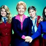 "Here, we have the ""Facts of Life"" cast. From left, Kim Fields, Lisa Welchel, Nancy McKeon and Mindy Cohn.  (Sony Pictures Home Entertainment)"