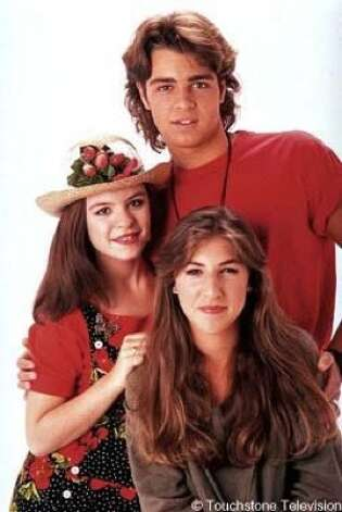 "Mayim Bialik, Jenna von Oy and Joey Lawrence starred in the early-'90s sitcom ""Blossom."" Photo: LINDA A. VANOFF, BUENA VISTA TELEVISION"