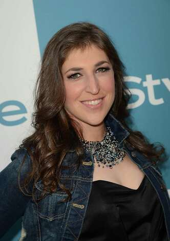 "Blossom is all grown up. Now we know Mayim Bialik as Amy Farrah Fowler on CBS' ""The Big Bang Theory."" She also has a Ph.D. in Neuroscience and the author of ""Beyond the Sling: A Real-Life Guide to Raising Confident, Loving Children the Attachment Parenting Way."" Photo: Jason Merritt, Getty Images / 2012 Getty Images"