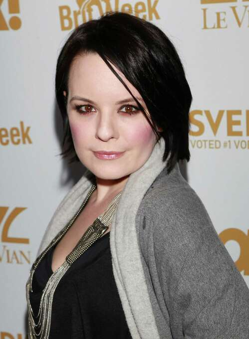 """Jenna von Oy, seen here in 2011, played Six on """"Blossom."""" She's acted in various TV shows, welcomed a daughter in May and mom-blogs for People.com. Photo: David Livingston, Getty Images / 2011 Getty Images"""