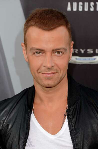 Whoa! It's Joey Lawrence, now 36, in August, 2012.  Lawrence, who also starred on