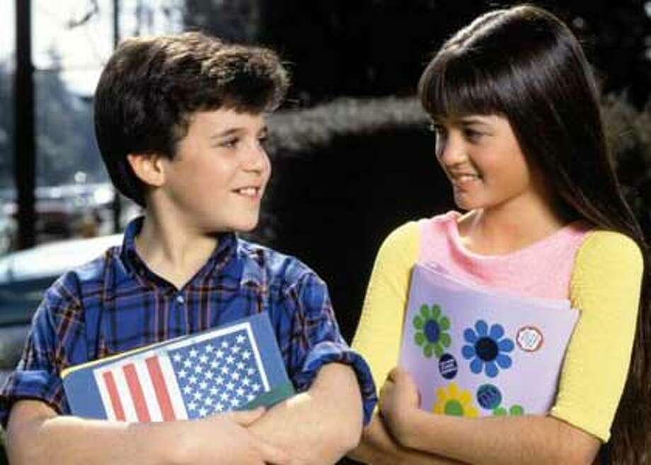 And let's not forget Winnie Cooper, played by Danica McKeller, seen here with a young Fred Savage.  (ABC)