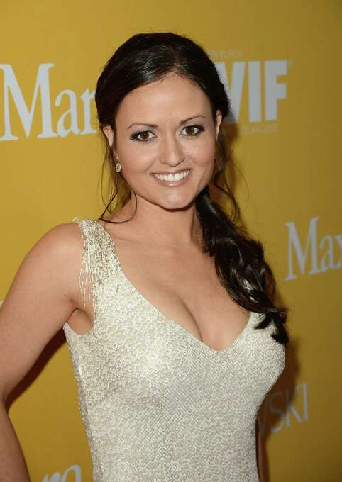 """Winnie Cooper now. Danica McKellar, now 37, currently devotes her time to getting girls into math. The UCLA math major is the author of """"Math Doesn't Suck,"""" """"Kiss My Math,"""" """"Hot X: Algebra Exposed!"""" and """"Girls Get Curves - Geometry Takes Shape."""" (Jason Merritt / 2012 Getty Images) Photo: Jason Merritt, Getty Images For Women In Film Crystal + Lucy Awards / 2012 Getty Images"""