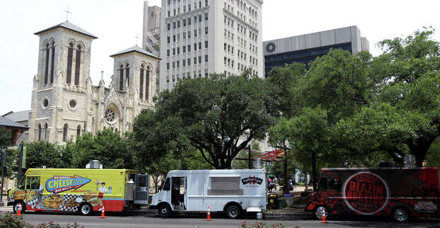 A few short years ago, you could count local food trucks on one hand. Now, a growing number have taken to the streets, serving everything from sushi to homemade pizza to gourmet sandwiches. Click through the slideshow to see what kinds of eats San Antonio has to offer on four wheels. Photo: JOHN DAVENPORT, San Antonio Express-News / SAN ANTONIO EXPRESS-NEWS