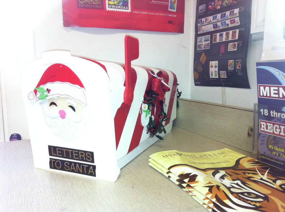 The Rowayton Post Office is now accepting letters to Santa. Photo: Contributed Photo