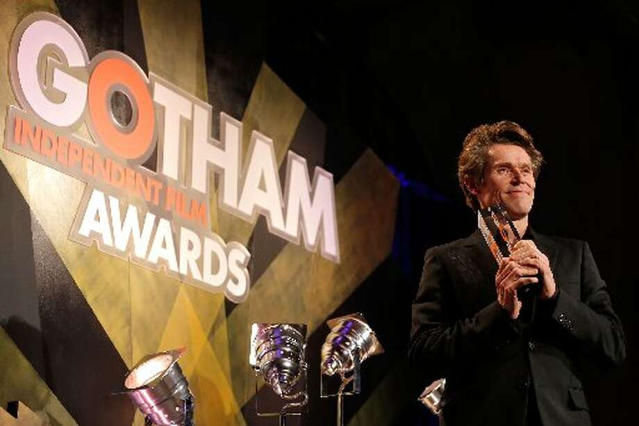 Actor Willem Dafoe speaks onstage at the IFP's 22nd Annual Gotham Independent Film Awards at Cipriani Wall Street on November 26, 2012 in New York City. (Photo by Jemal Countess/Getty Images for IFP) (Getty)