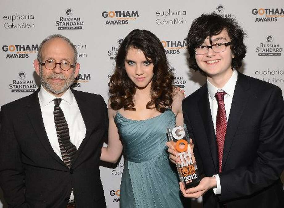 (L-R) Bob Balaban, Kara Hayward, and Jared Gilman attend the IFP's 22nd Annual Gotham Independent Film Awards at Cipriani Wall Street on November 26, 2012 in New York City. (Photo by Larry Busacca/Getty Images for IFP) (Getty)
