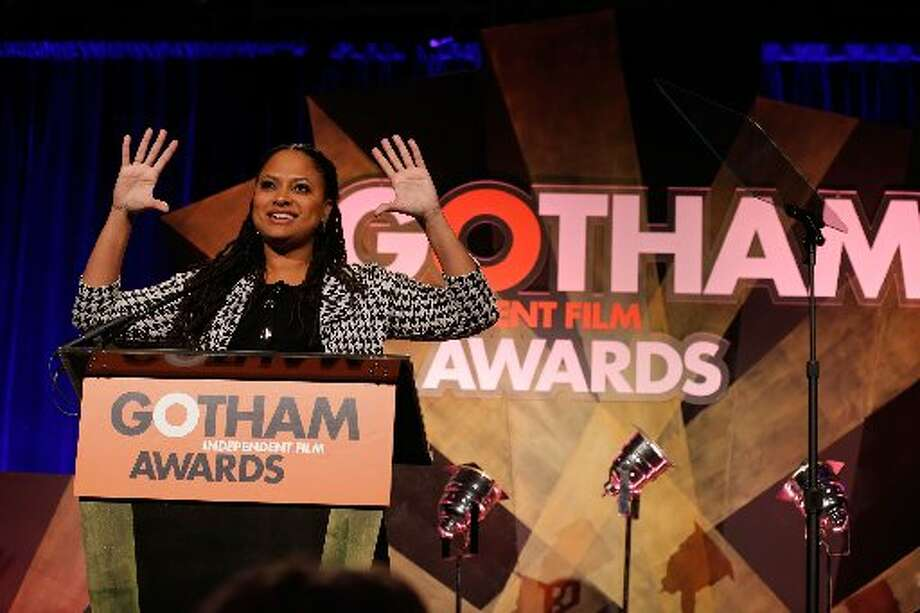 Filmmaker Ava DuVernay speaks onstage at the IFP's 22nd Annual Gotham Independent Film Awards at Cipriani Wall Street on November 26, 2012 in New York City. (Photo by Jemal Countess/Getty Images for IFP) (Getty)