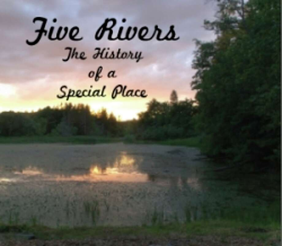 "The cover of ""Five Rivers The History of a Special Place"""