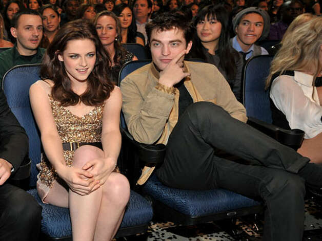 Kristen Stewart and Robert Pattinson And they actually tried to pretend they weren't a couple...
