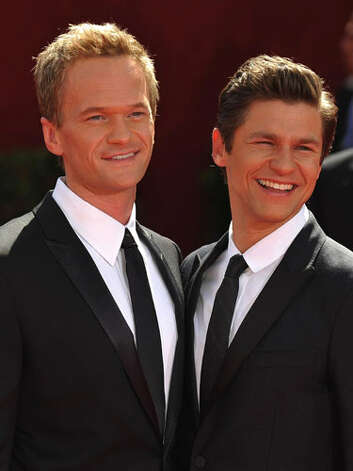 Neil Patrick Harris and David Burtka We heard these two are auditioning to be the next Doublemint twins... / 2009 AFP