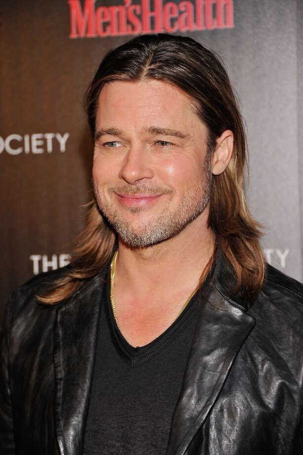 "Actor Brad Pitt attends The Cinema Society with Men's Health and DeLeon hosted screening of The Weinstein Company's ""Killing Them Softly"" on November 26, 2012 in New York City.  (Photo by Stephen Lovekin/Getty Images) Photo: Stephen Lovekin, Getty Images / 2012 Getty Images"