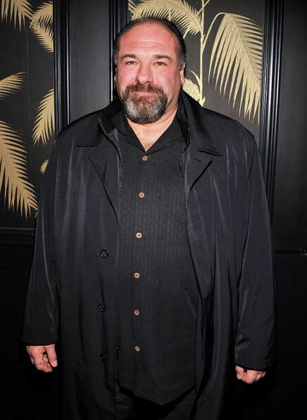 Actor James Gandolfini attends the after party for a screening of The Weinstein Company's