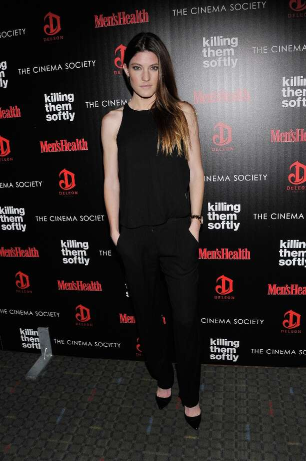"Actress Jennifer Carpenter attends The Cinema Society with Men's Health and DeLeon hosted screening of The Weinstein Company's ""Killing Them Softly"" on November 26, 2012 in New York City.  (Photo by Stephen Lovekin/Getty Images) Photo: Stephen Lovekin, Getty Images / 2012 Getty Images"