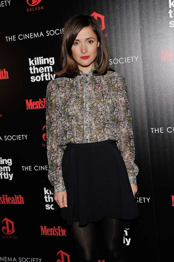"Actress Rose Byrne attends The Cinema Society with Men's Health and DeLeon hosted screening of The Weinstein Company's ""Killing Them Softly"" on November 26, 2012 in New York City.  (Photo by Stephen Lovekin/Getty Images) Photo: Stephen Lovekin, Getty Images / 2012 Getty Images"