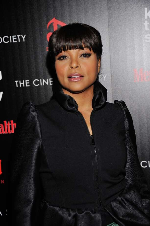 "Actress/singer Taraji P. Henson attends The Cinema Society with Men's Health and DeLeon hosted screening of The Weinstein Company's ""Killing Them Softly"" on November 26, 2012 in New York City.  (Photo by Stephen Lovekin/Getty Images) Photo: Stephen Lovekin, Getty Images / 2012 Getty Images"