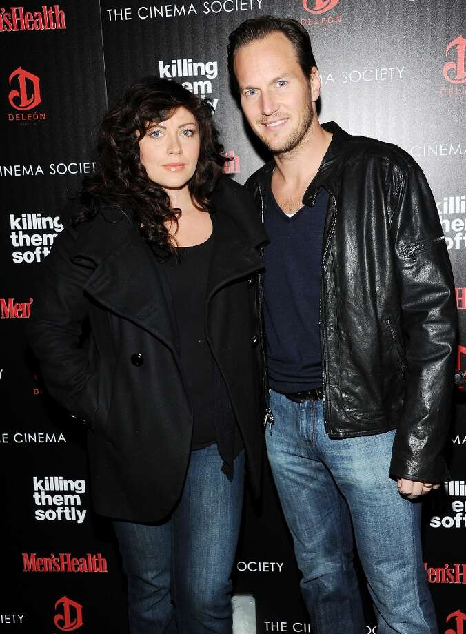 "Actor Patrick Wilson and wife Dagmara Dominczyk attend a special screening of ""Killing Them Softly"" hosted by The Cinema Society, Men's Health and DeLeon at the SVA Theater on Monday, Nov. 26, 2012 in New York. Photo: Evan Agostini, Associated Press / Invision"