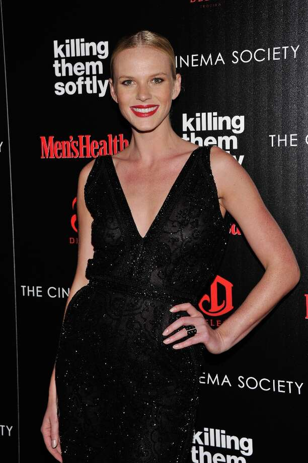 "Model Anne V. attends The Cinema Society with Men's Health and DeLeon hosted screening of The Weinstein Company's ""Killing Them Softly"" on November 26, 2012 in New York City.  (Photo by Stephen Lovekin/Getty Images) Photo: Stephen Lovekin, Getty Images / 2012 Getty Images"