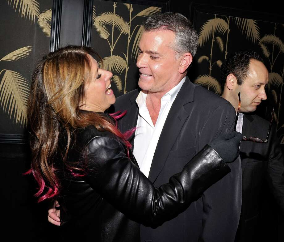 "Actors Lorraine Bracco and Ray Liotta attend the after party for a screening of The Weinstein Company's ""Killing Them Softly"" hosted by The Cinema Society With Men's Health And DeLeon on November 26, 2012 in New York City.  (Photo by Stephen Lovekin/Getty Images) Photo: Stephen Lovekin, Getty Images / 2012 Getty Images"