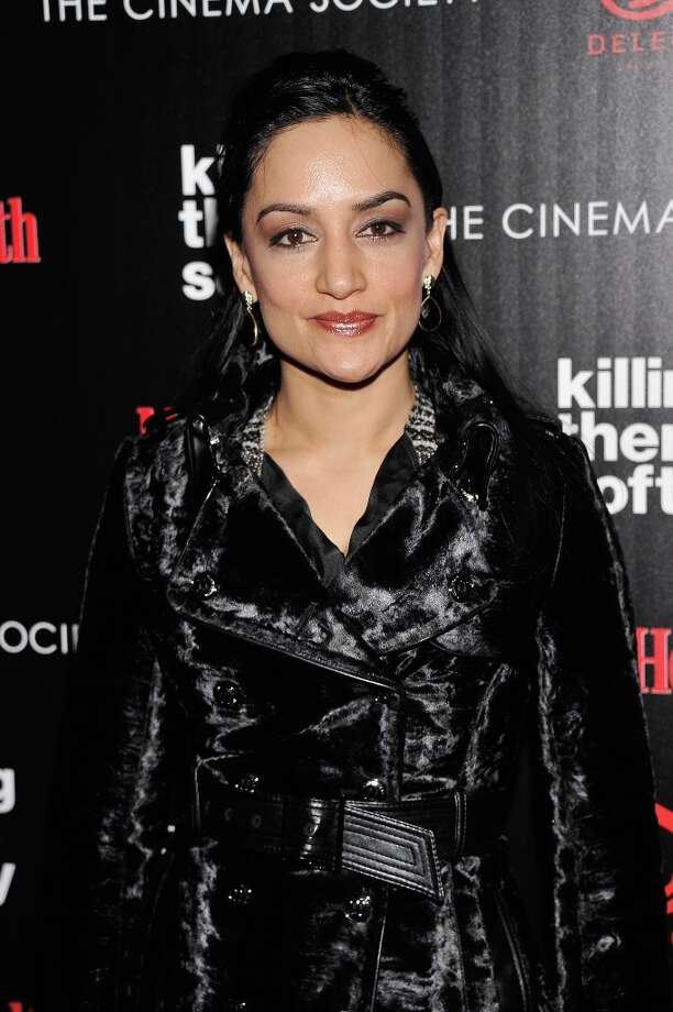 "Actress Archie Panjabi attends The Cinema Society with Men's Health and DeLeon hosted screening of The Weinstein Company's ""Killing Them Softly"" on November 26, 2012 in New York City.  (Photo by Stephen Lovekin/Getty Images) Photo: Stephen Lovekin, Getty Images / 2012 Getty Images"