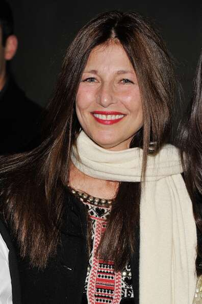 Actress Catherine Keener attends The Cinema Society with Men's Health and DeLeon hosted screening of