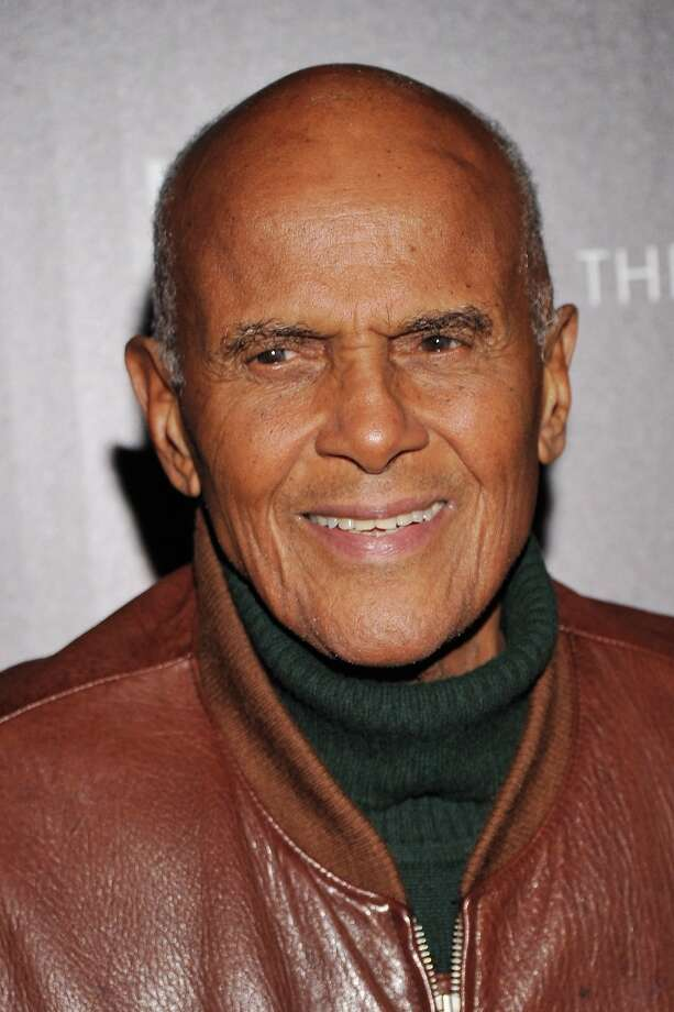"Singer Harry Belafonte attends The Cinema Society with Men's Health and DeLeon hosted screening of The Weinstein Company's ""Killing Them Softly"" on November 26, 2012 in New York City.  (Photo by Stephen Lovekin/Getty Images) Photo: Stephen Lovekin, Getty Images / 2012 Getty Images"