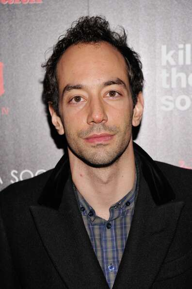 Musician Albert Hammond Jr. attends The Cinema Society with Men's Health and DeLeon hosted screening