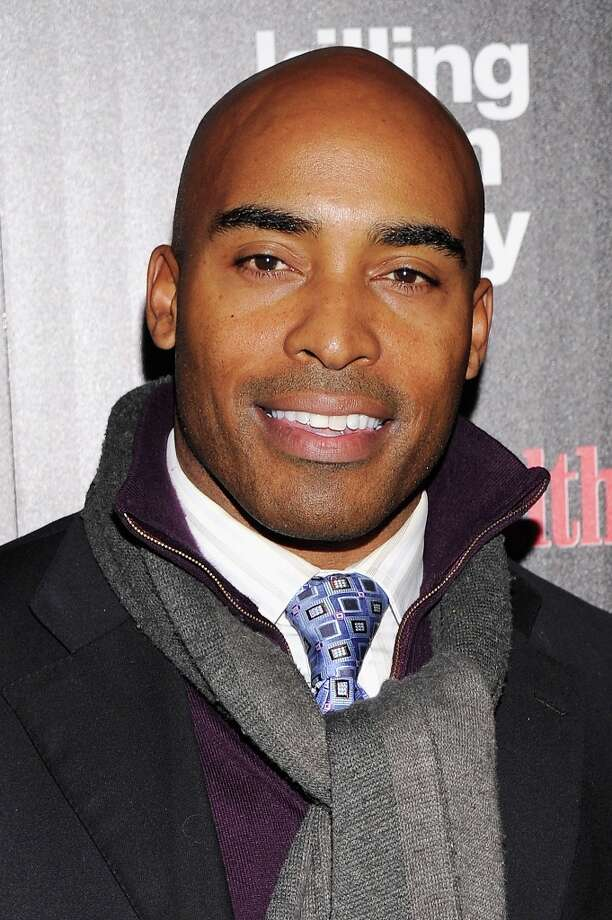 "Former NFL player Tiki Barber attends The Cinema Society with Men's Health and DeLeon hosted screening of The Weinstein Company's ""Killing Them Softly"" on November 26, 2012 in New York City.  (Photo by Stephen Lovekin/Getty Images) Photo: Stephen Lovekin, Getty Images / 2012 Getty Images"