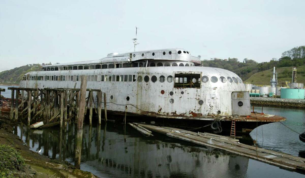 1. Buy the old, rotting, historic Kalakala ferry. Then watch the rest of your winnings sink to the bottom of Lake Union as you become the latest unlucky soul who tries to renovate it.