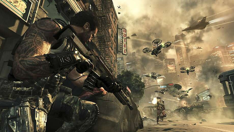 "If you've got lots of time to kill - and, we do means ""lots"" - ""Call of Duty: Black Ops 2"" may be just the game for you. Photo: Activision, New York Times"