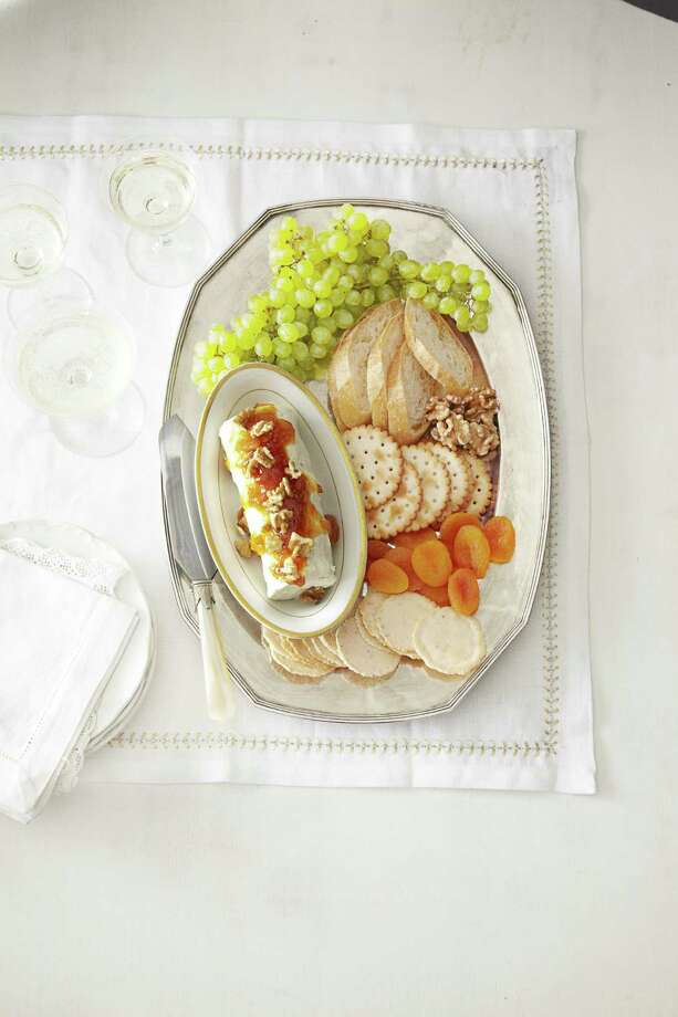 Good Housekeeping recipe for Chutney-Glazed Goat Cheese. Photo: Kate Mathis