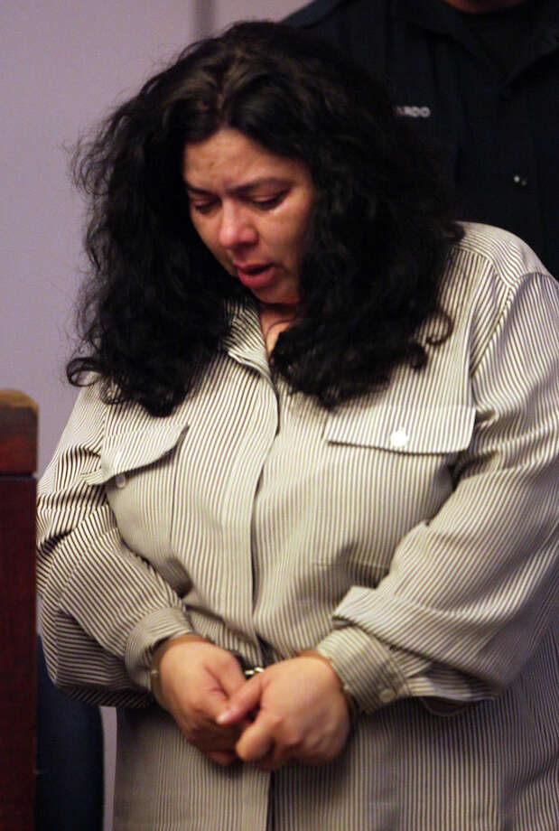 Lucinda Rodriguez Caldwell, 41, who taught fifth grade at Cable  Elementary School, was sentenced Tuesday. Photo: Bob Owen, San Antonio Express-News / © 2012 San Antonio Express-News