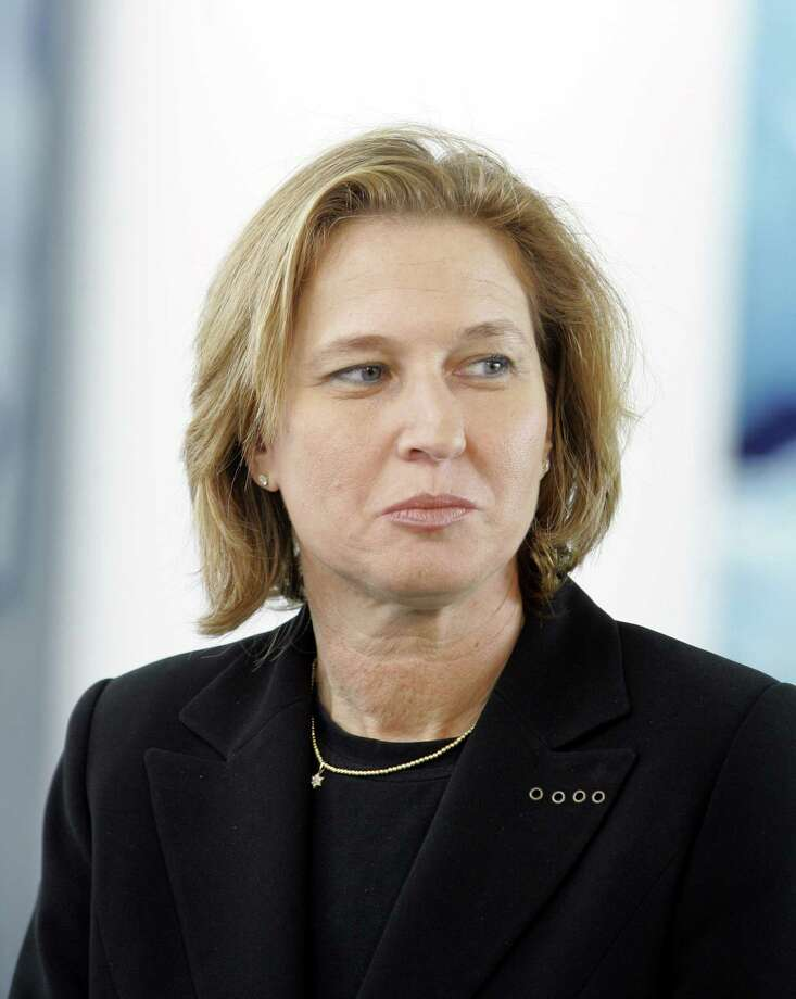 FILE - In this Aug. 28, 2006 file photo, former Israeli Foreign Minister Tzipi Livni, is seen during her visit in the Chancellory in Berlin. Livni is expected to announce her return to Israeli politics on Tuesday, Nov. 27, 2012. (AP Photo/Franka Bruns, File) Photo: FRANKA BRUNS, STR / AP