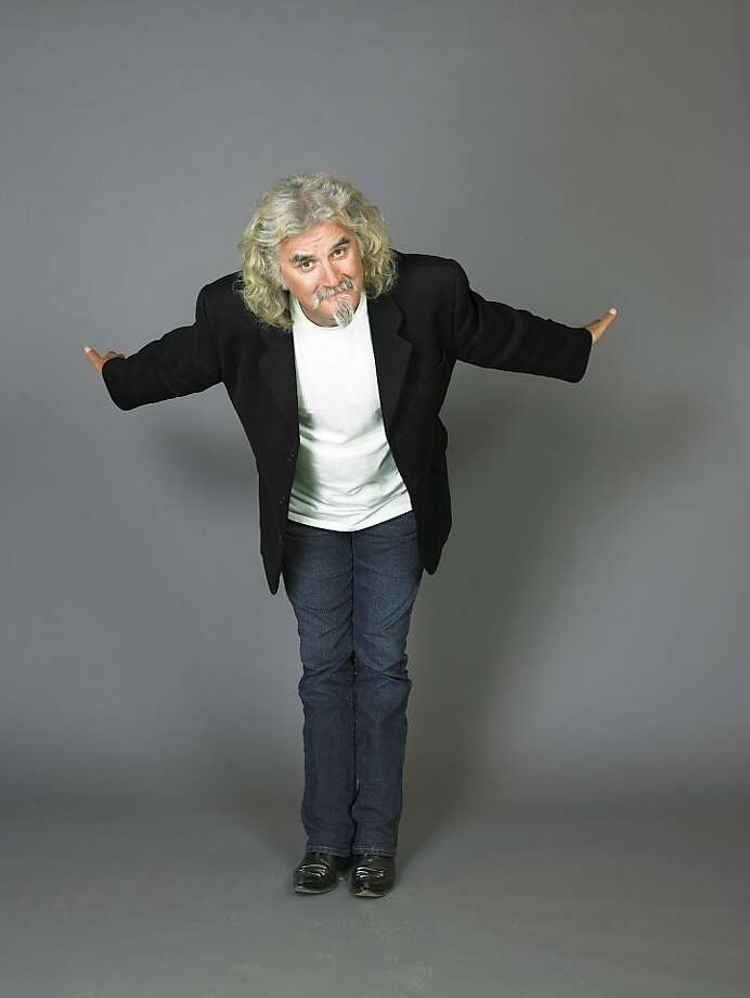 Billy Connolly's gifts of mimicry and physical dexterity add to the comedy. Photo: Tony Lyon