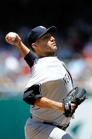 Andy Pettitte went 5-4 with a 2.87 ERA in 12 starts in 2012 after sitting out the 2011 season. Photo: Patrick McDermott, Getty Images