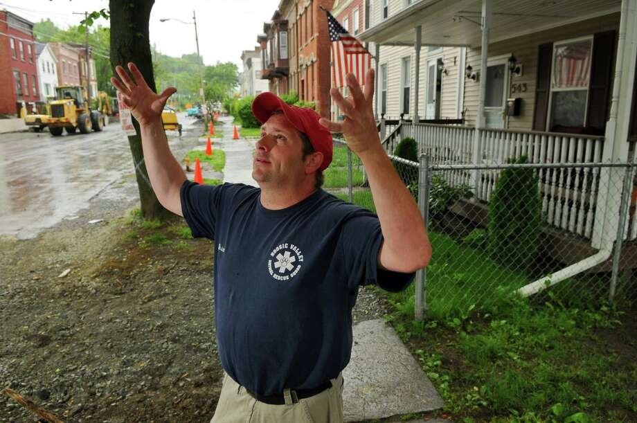Brian Houle, Tuesday May 22, 2012 in Troy, N.Y.    (Philip Kamrass / Times Union ) Photo: Philip Kamrass / 00017774A