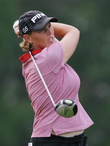 Wendy Ward hits a shot during the Wendy's Championship for Children on Aug. 26, 2006, at Tartan Fields Golf Club in Dublin, Ohio. Photo: Mark Lyons, Getty Images / 2006 Getty Images
