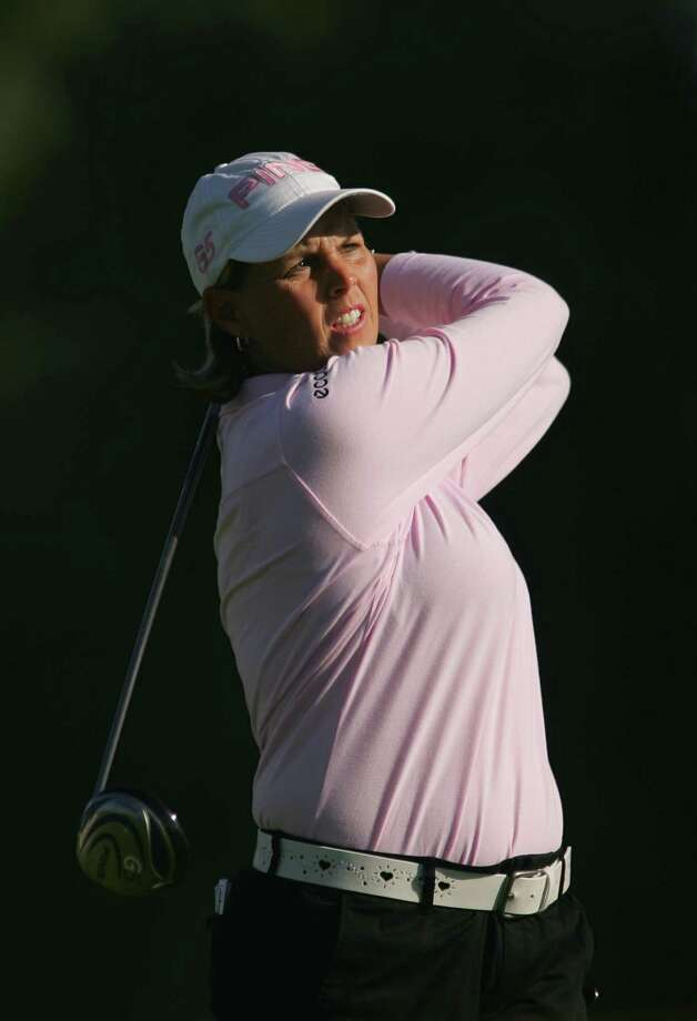 Wendy Ward hits a shot during the first round of the Kraft Nabisco Championship at Mission Hills Country Club on March 29, 2007, in Rancho Mirage, Calif. Photo: Scott Halleran, Getty Images / 2007 Getty Images