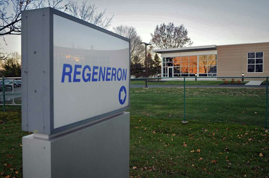 View of the Regeneron plant on Monday Nov. 21, 2011 in East Greenbush, NY. The company received approval from the FDA for its blindness treatment drug. (Philip Kamrass / Times Union ) Photo: Philip Kamrass / 00015490A