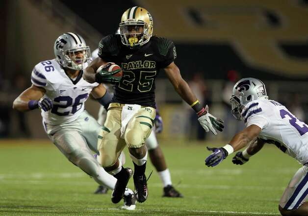 Lache Seastrunk #25 of the Baylor Bears at Floyd Casey Stadium on Nov. 17, 2012 in Waco. Photo: Ronald Martinez, Getty Images / 2012 Getty Images