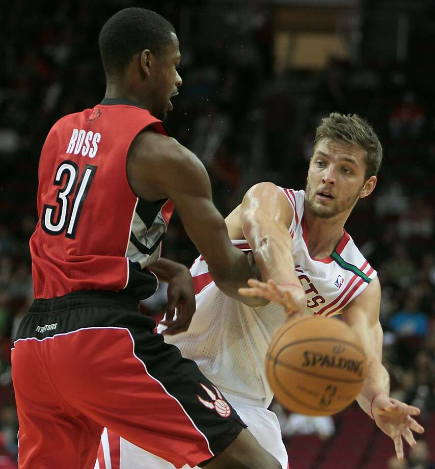 Nov. 27: Rockets 117, Raptors 101Rockets forward Chandler Parsons contributed 18 points to the win. (James Nielsen / Houston Chronicle)