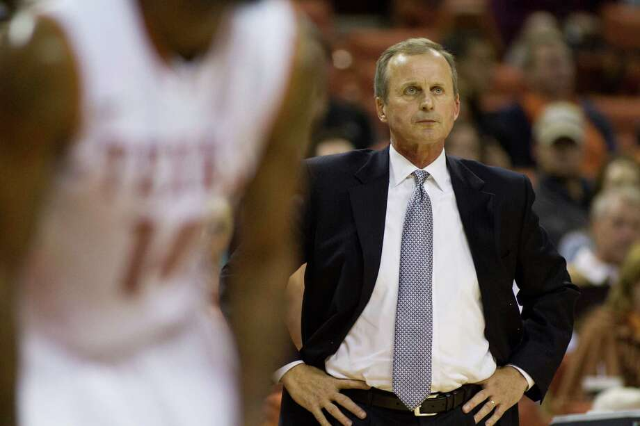 AUSTIN, TX - NOVEMBER 27:  Head coach Rick Barnes of the University of Texas Longhorns looks on while his team faces the Sam Houston State Bearkats on November 27, 2012 at the Frank Erwin Center in Austin, Texas. Photo: Cooper Neill, Getty Images / 2012 Getty Images