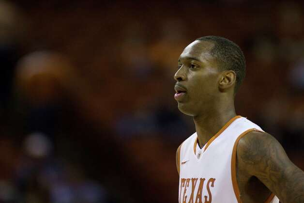 AUSTIN, TX - NOVEMBER 27:  Sheldon McClellan #1 of the University of Texas Longhorns looks on against the Sam Houston State Bearkats on November 27, 2012 at the Frank Erwin Center in Austin, Texas. Photo: Cooper Neill, Getty Images / 2012 Getty Images