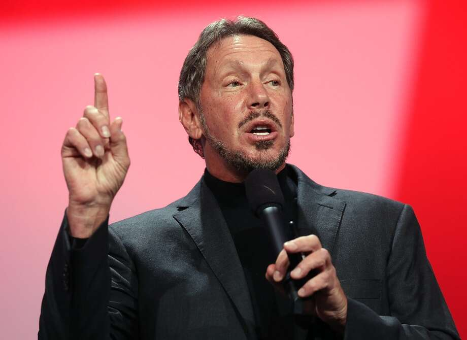 SAN FRANCISCO, CA - SEPTEMBER 30:  Oracle CEO Larry Ellison delivers a keynote address during the 2012 Oracle Open World conference on September 30, 2012 in San Francisco, California. Ellison kicked off the week-long Oracle Open World conference that runs through October 4.  (Photo by Justin Sullivan/Getty Images) (Getty Images)
